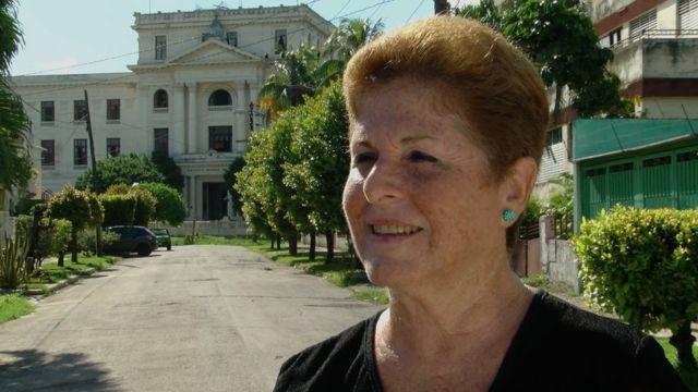 Dolores Guerra, investigadora del Instituto Cubano de Historia.