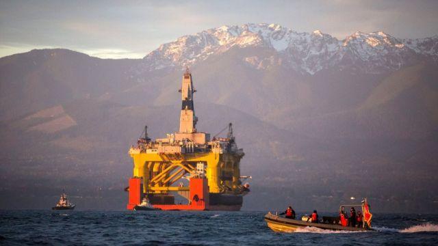 буровая установка Royal Dutch Shell