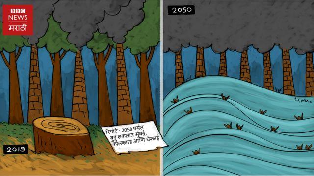 मुंबईचं भविष्य पाण्यात?