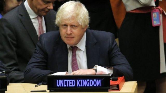 كان جونسون يتحدث بعد لقاء لنحو 14 دولة تدعم المعارضة السورية، ومن بينها فرنسا والسعودية وتركيا والولايات المتحدة