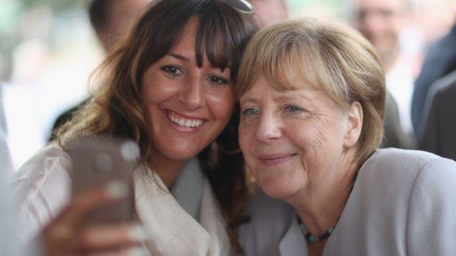 Ангела Меркель. Больдеков. 18 августа 2016 года
