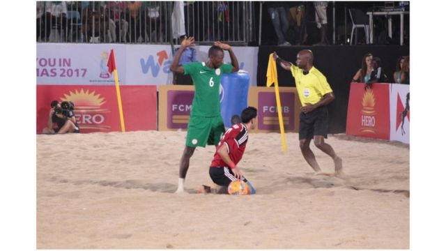 Phase finale de la CAN de Beach soccer au Nigéria