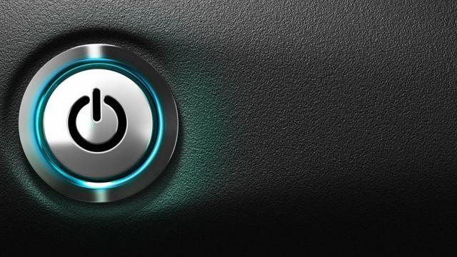 Botón de apagar