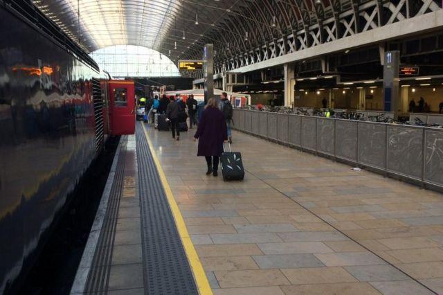 2016年——伦敦帕丁敦火车站