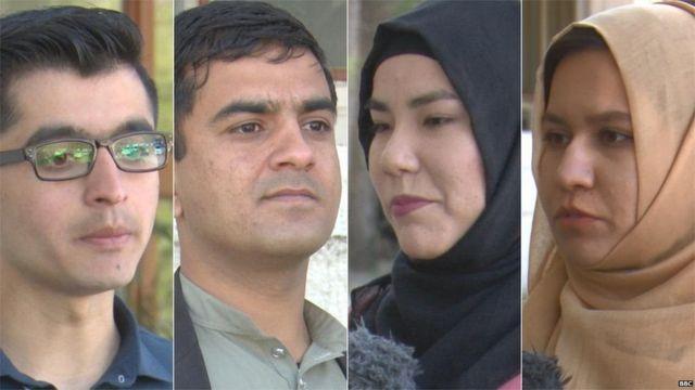 اسلام اباد کې ځینې افغان ځوانان