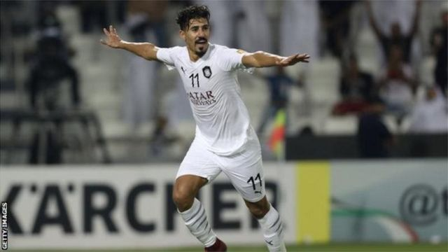 Baghdad Bounedjah a été l'un des meilleurs buteurs de l'année 2018, avec 58 buts.