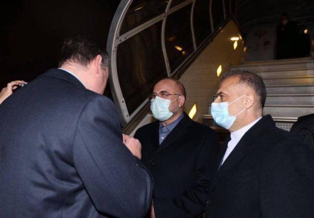 ورود آقای قالیباف به مسکو