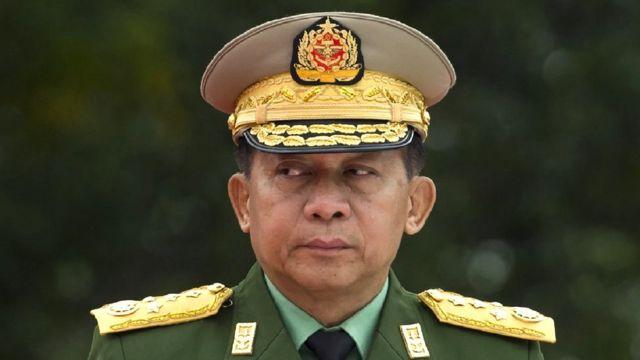 Myanmar Army Gen Min Aung Hlaing