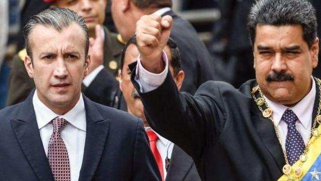 الرئيس الفنزويلي ونائبه