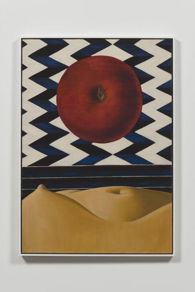 Luchita Hurtado, Sin título 1971, Óleo, Unique, 127 x 88.6 cm, © Luchita Hurtado, Cortesía de la artista y Hauser & Wirth, Foto: Jeff McLane
