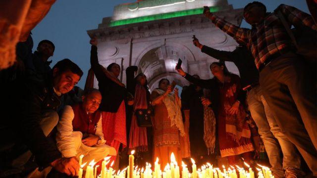 कश्मीर घटनापछि शोक दिल्लीमा मनाइँदै