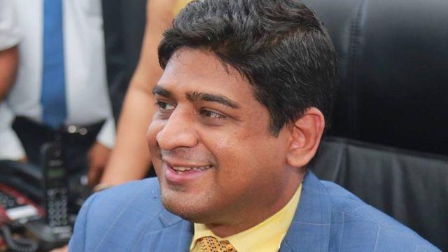 ஐக்கிய தேசியக் கட்சி நாடாளுமன்ற உறுப்பினரும் ராஜாங்க அமைச்சருமான வசந்த சேனநாயக்க