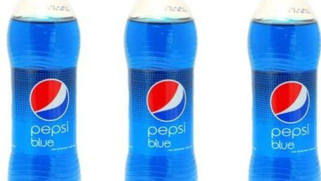 Pepsi Blue bottles