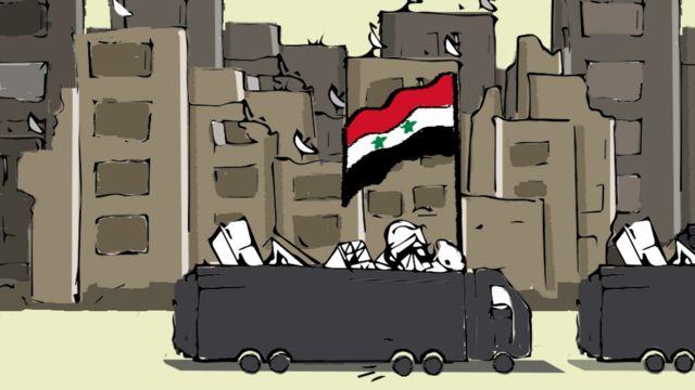 سيطر الجيش السوري والقوات الموالية له على عشرات القرى و المدن شمال وشمال غرب حلب