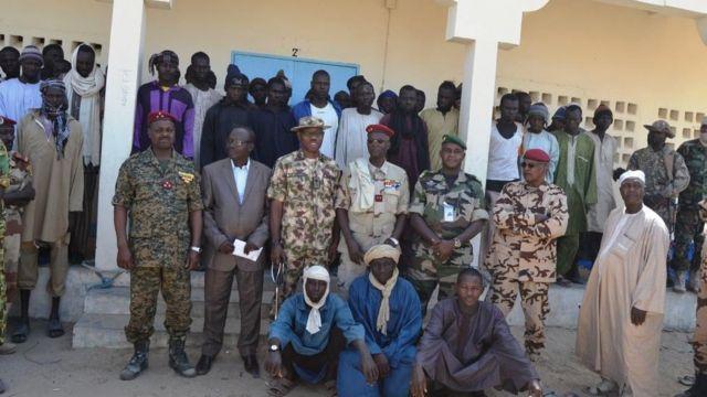 Sojoji da tsaffin mayakan Boko Haram