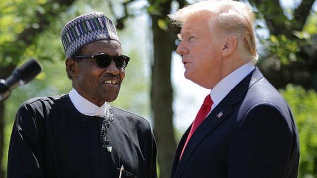 Shugaba Buhari na Najeriya da Shugaba Trump na Amurika
