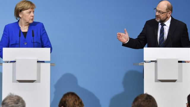 Germany coalition talks: Merkel welcomes breakthrough