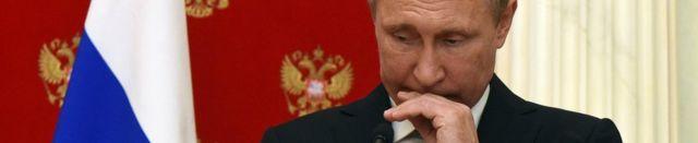 プーチン大統領(今月10日、モスクワ)