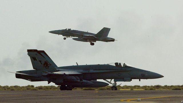 ABD uçakları arşiv