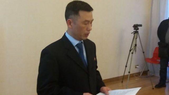 Ông Jo Song-gil, cựu Đại sứ Bắc Hàn tại Ý được cho là đã sống ở Rome với gia đình trước khi biến mất