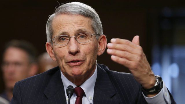 """""""Zika virus is just beginning in the West,"""" Dr Anthony Fauci says"""