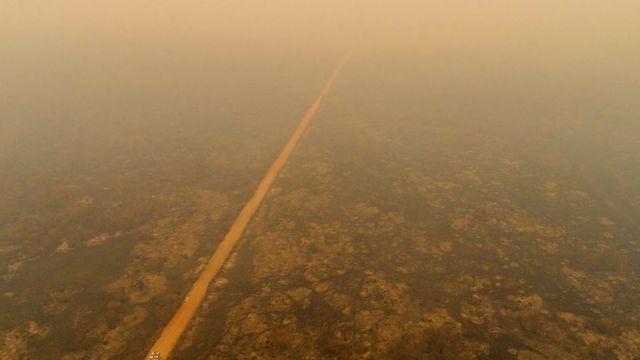 Fumaça no Mato Grosso do Sul