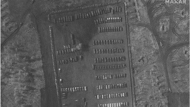 Російський військовий табір біля Воронежа