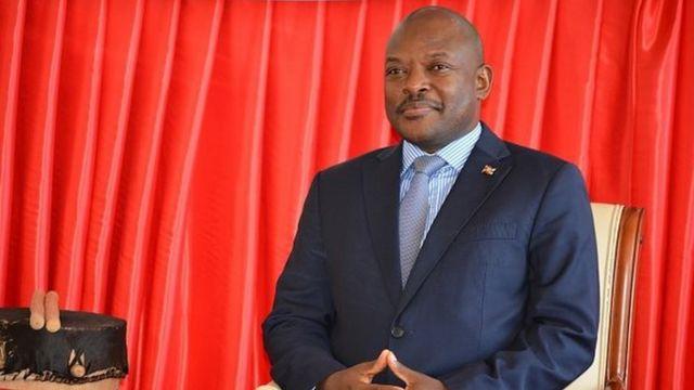 Fin décembre , le président du Burundi a laissé entendre qu'il pourrait se présenter à nouveau à la présidence en 2020