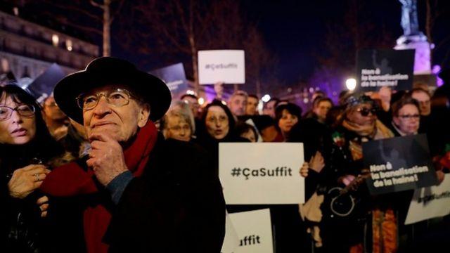 گفته شده جملات یهودی ستیزانه در فرانسه طی چند ماه اخیر ۷۰ درصد افزایش داشته است