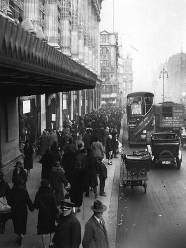 La tienda de Selfridge en Oxford Street