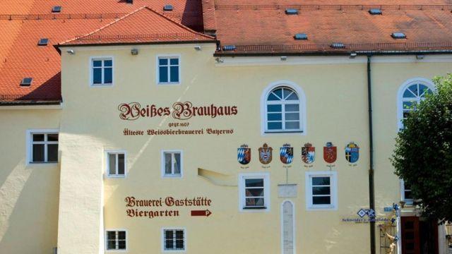 La sede de la cervecería Schneider Weisse
