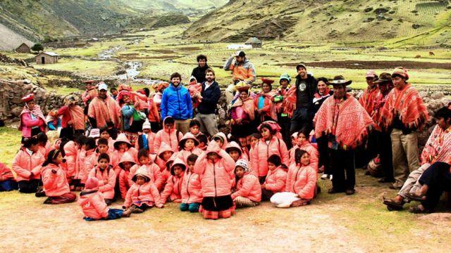Niños en Perú