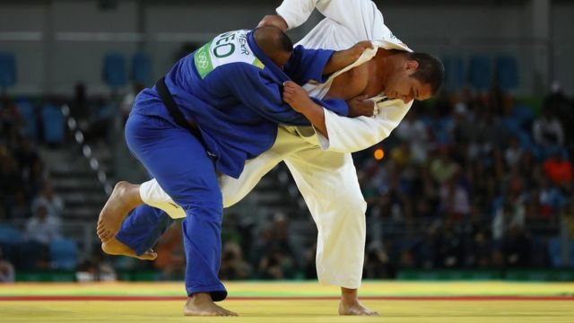 O sargento Rafael Silva compete na Olimpíada