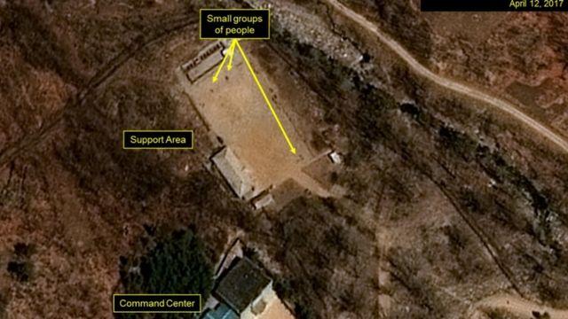 朝鲜丰溪里核试验基地