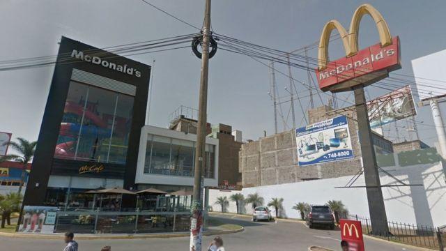 Captura de Google Street View