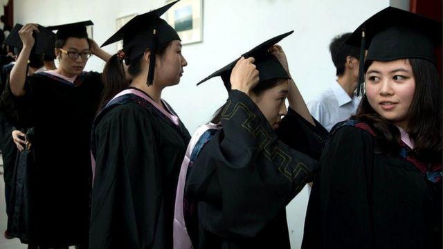 El objetivo final: acceder a la universidad y graduarse.