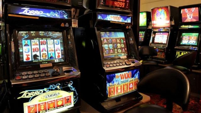 Помещение с игровыми автоматами