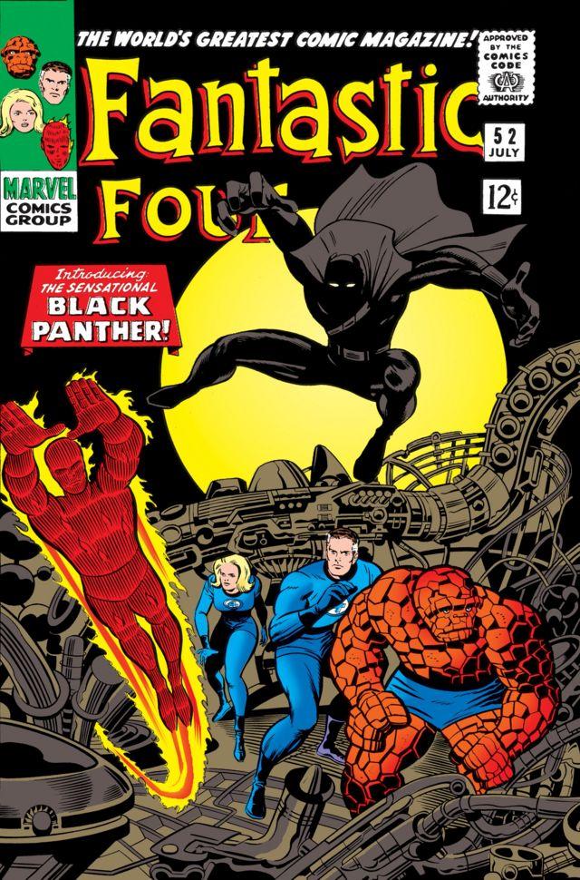 Фантастична четворка и Црни пантер