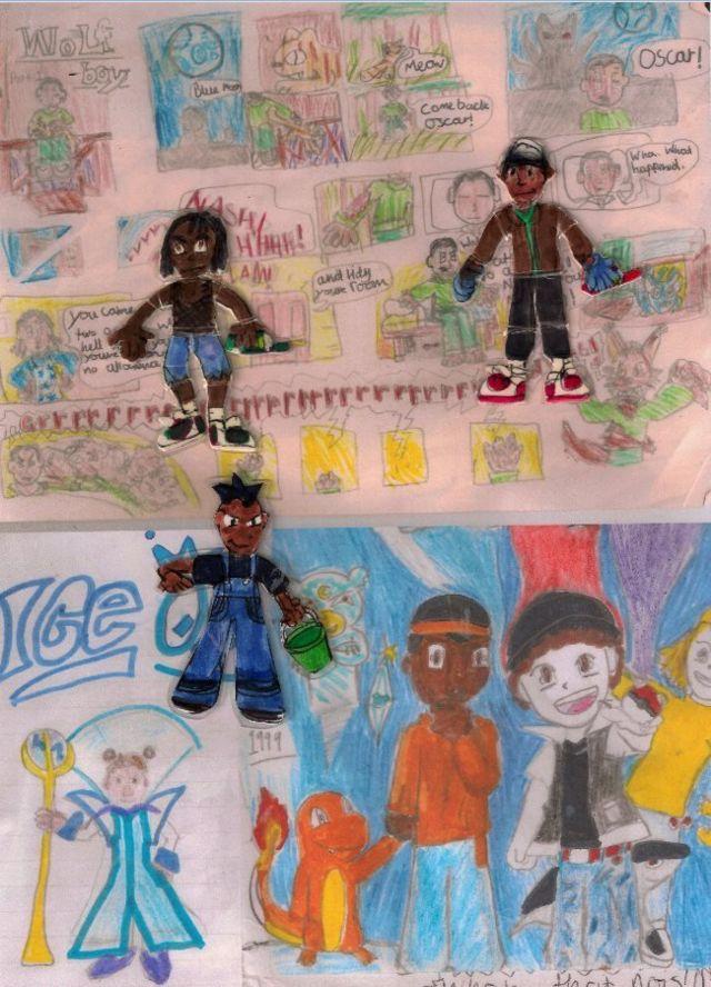 Детские рисунки Джейкоба Джойса
