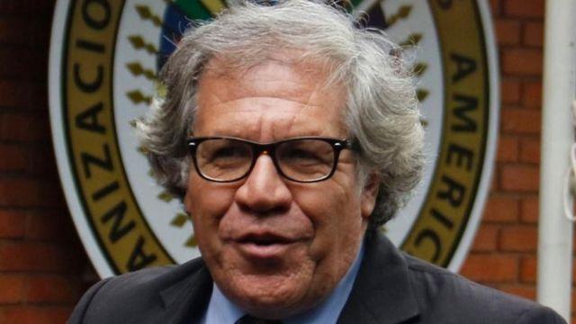 Secretario general de la OEA, Luis Almagro.