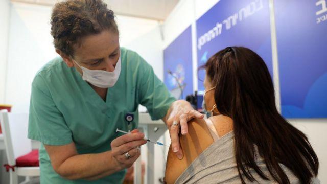 вакцинация в тель авиве