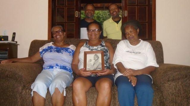 Família de Natalino Cândido da Silva