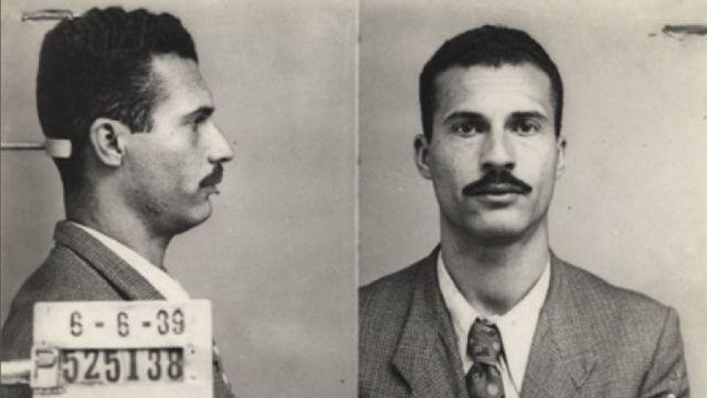 Marighella preso em São Paulo em 1939