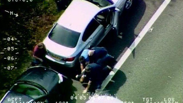 Police capture drugs suspect