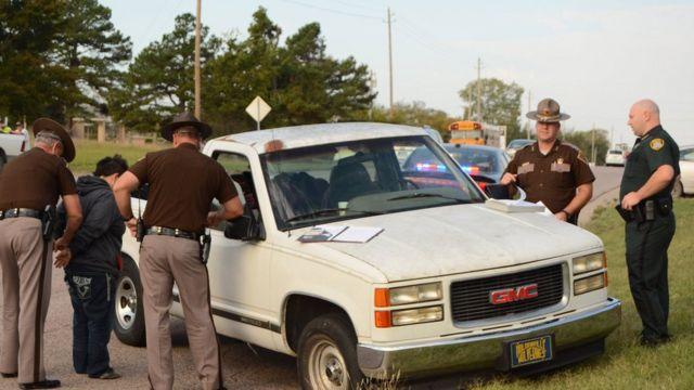 Oklahoma toddler 'takes wheel for drunken mother'