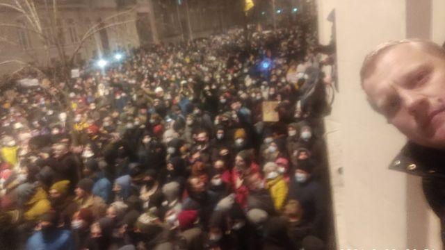 Протест на Банковій за Стерненка