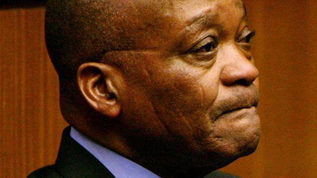 Jacob Zuma aarẹ orilẹede South Afrika