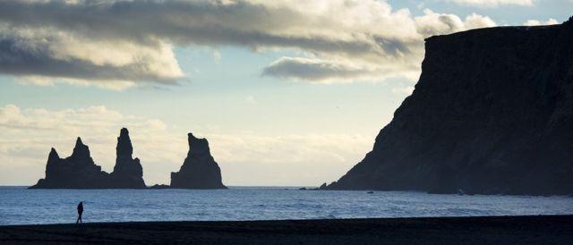 جنوبی آئس لینڈ کا ایک گاؤں