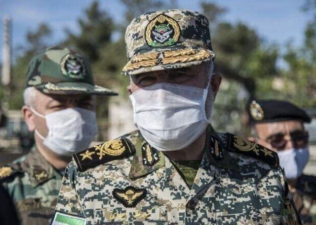 کیومرث حیدری، فرمانده نیروی زمینی ارتش میگوید ایران به مرزهای شمال غربی حساس شده است