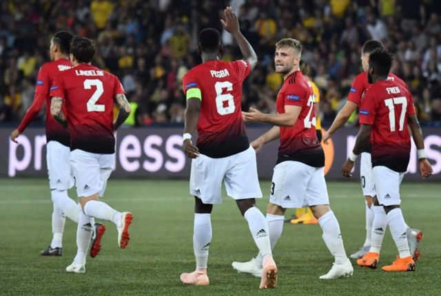 Abakinyi ba Man United